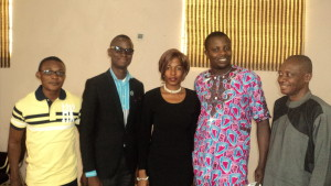 At a Training in Benin City, Edo State, Nigeria