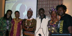 Group phograph of the African Youth Forum