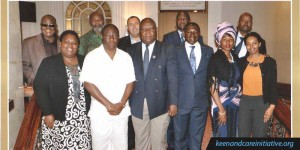 CONSTITUTIVE MEETING OF THE PEACE AND SECURITY CLUSTER HELD IN NAIROBI, KENYA